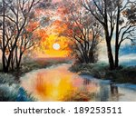 Oil Painting On Canvas   The...