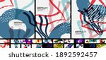 trendy abstract backgrounds... | Shutterstock .eps vector #1892592457
