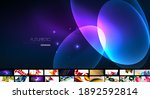 trendy abstract backgrounds... | Shutterstock .eps vector #1892592814