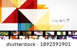 trendy abstract backgrounds... | Shutterstock .eps vector #1892592901