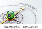 brazil high resolution income...   Shutterstock . vector #189262334
