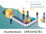 lost baggage vector website...   Shutterstock .eps vector #1892646781