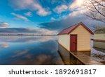 Boathouse On Lake Wendouree...
