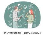 mathematics  statistics  data... | Shutterstock .eps vector #1892725027
