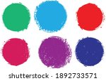 grunge post stamps collection ... | Shutterstock .eps vector #1892733571