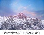 Chamonix Mont Blanc  France...