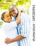 beautiful young black couple... | Shutterstock . vector #189283961