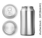 aluminium can for soda or beer... | Shutterstock .eps vector #1892866441