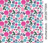 elegant seamless pattern with...   Shutterstock .eps vector #1892877004
