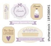 Set Of Vintage Labels With...