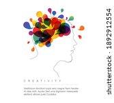 creative mind concept... | Shutterstock .eps vector #1892912554