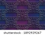 Abstract Vinous Pattern With...