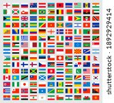 world flags collection. laws... | Shutterstock . vector #1892929414