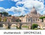 St.peter's Basilica In Vatican  ...