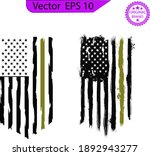 american flag  usa distressed... | Shutterstock .eps vector #1892943277