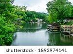 Lake Lure In North Carolina Is...