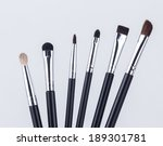 make up brushes | Shutterstock . vector #189301781