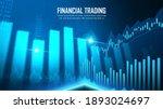 stock market or forex trading... | Shutterstock .eps vector #1893024697