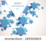 independence day of israel.... | Shutterstock .eps vector #189303845