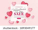 creative valentine's day sale...   Shutterstock .eps vector #1893049177