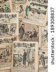 Antique French Fashion Magazin...