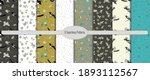 a set of seamless patterns with ...   Shutterstock .eps vector #1893112567