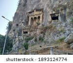 Ruins Of Lycian Rock Tomb In...
