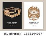 set of rv camping badges ...   Shutterstock .eps vector #1893144097