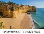 Coastal Cliffs Of Algarve ...