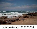 Beautiful Sandy Ocean Beach...