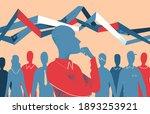 forecast  analysis  trend...   Shutterstock .eps vector #1893253921