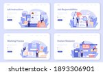 job instruction web banner or...   Shutterstock .eps vector #1893306901