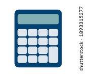 calculator icon vector. savings ... | Shutterstock .eps vector #1893315277
