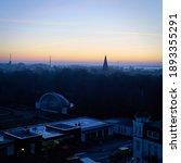 View Over Warnemuende On German ...