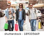 Fashion Young Guys Go Shopping...