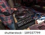 odessa   april 7  night club.... | Shutterstock . vector #189337799