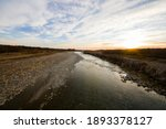 River Landscape And View During ...