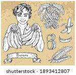design set with handsome man...   Shutterstock .eps vector #1893412807