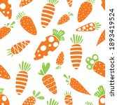 Carrot Seamless Pattern For...