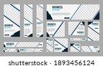 set of profesional business... | Shutterstock .eps vector #1893456124