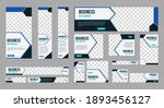 set of profesional business... | Shutterstock .eps vector #1893456127
