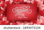 14 february valentine's day...   Shutterstock .eps vector #1893473134