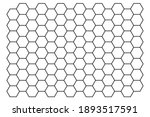 Black Hexagon Line Pattern...