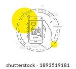 search calendar line icon....   Shutterstock .eps vector #1893519181