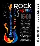 rock music festival poster... | Shutterstock .eps vector #1893523111