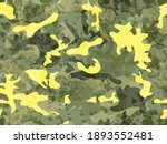 abstract watercolor camouflage... | Shutterstock . vector #1893552481