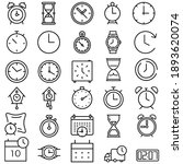 time icon vector set. clock...   Shutterstock .eps vector #1893620074