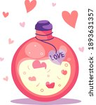 love potion for happy valentine'... | Shutterstock .eps vector #1893631357
