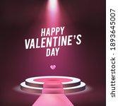 happy saint valentine's day... | Shutterstock .eps vector #1893645007