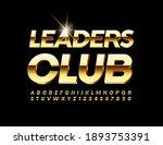 vector elite sign leaders club. ...   Shutterstock .eps vector #1893753391